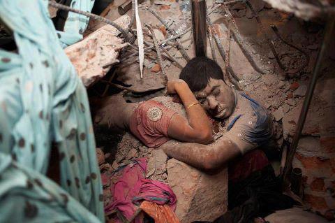 Derrumbamiento del edificio Rana Plaza en Bangladesh
